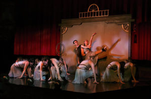 Dancers in Wild West Show on stage at Cody Theater