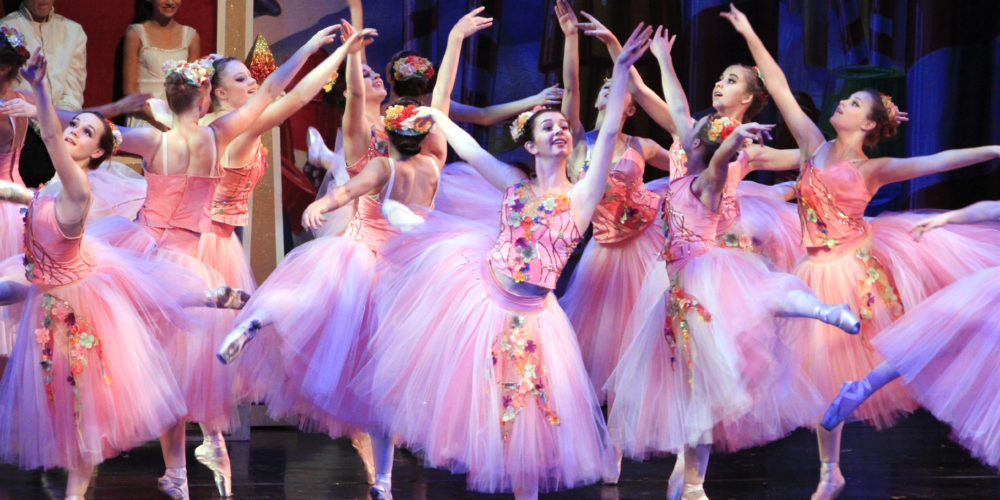 Flowers Dance during RMDT Nutcracker Production